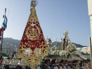 Procesión Virgen del Carmen de Marbella