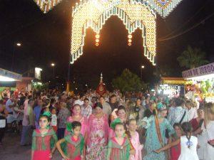 Pasacalles e inauguración feria de Nueva Andalucía