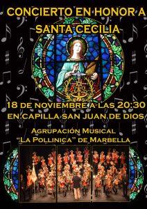 Concierto en honor a Santa Cecilia