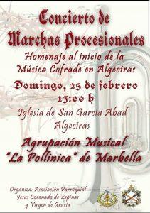 Concierto de Marchas Procesionales @ Algeciras