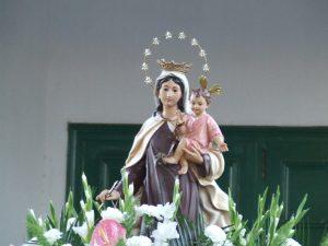 Procesión Virgen del Carmen de Las Chapas (Marbella)