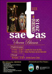 """Final del Concurso de Saetas """"Sierra Blanca"""" @ Ermita Santo Cristo de Marbella"""