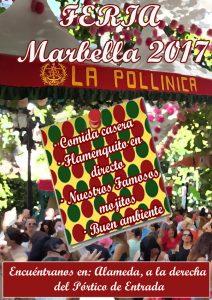 Barra en la Feria de Marbella 2017