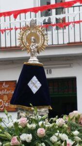 Procesión Virgen del Pilar de Ojén