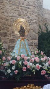 Procesión Virgen del Pilar de Marbella