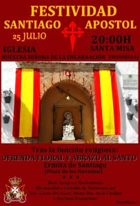 Festividad Santiago Apóstol