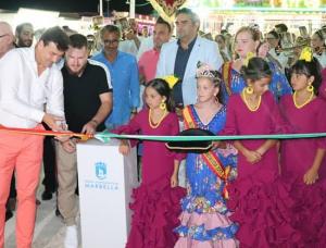 Inauguración feria de Nueva Andalucía